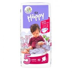 Pieluszki dla dzieci Bella Baby Happy New Flexi Fit Junior (5) 12-25 kg