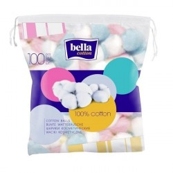 Waciki kosmetyczne Bella Cotton kolorowe 100 szt.