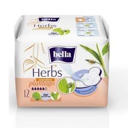 Podpaski higieniczne Bella Herbs Sensitive, z babką lancetowatą