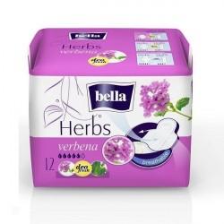 Podpaski higieniczne Bella Herbs, wzbogacone werbeną