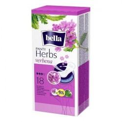 Wkładki higieniczne Bella Herbs, wzbogacone werbeną