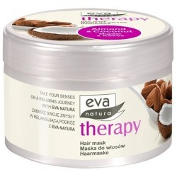 Maska do włosów Eva Natura Therapy, Migdał i Kokos 225ml