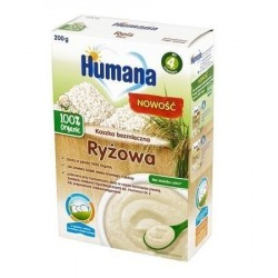 Kaszka Humana ryżowa, po 4. miesiącu