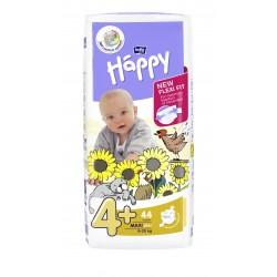 Pieluszki dla dzieci Bella Baby Happy New Flexi Fit Maxi Plus (4+) 9-20 kg