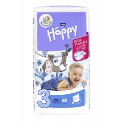 Pieluszki dla dzieci Bella Baby Happy New Flexi Fit Midi (3) 5-9 kg