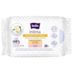 Chusteczki nawilżane do higieny intymnej Bella Intima 20szt.