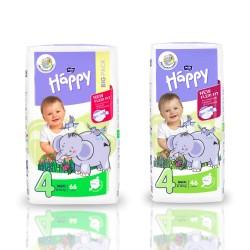 Pieluszki dla dzieci Bella Baby Happy New Flexi Fit Maxi (4) 8-18 kg