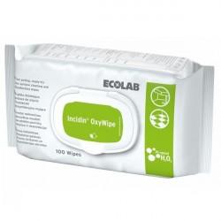 Chusteczki do dezynfekcji powierzchni Ecolab Incidin OxyWipe