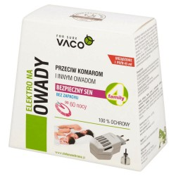 Urządzenie i płyn na komary i inne owady Vaco Electro