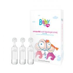 Sól fizjologiczna BabyCap, w ampułkach