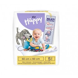 Podkłady do przewijania Bella Baby Happy 60x60cm