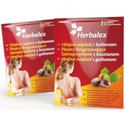 Plaster Herbalex, rozgrzewający, z kasztanem