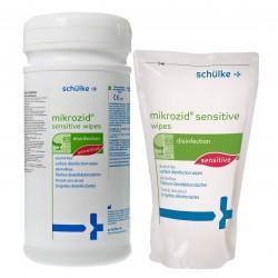 Chusteczki do dezynfekcji powierzchni Mikrozid Sensitive