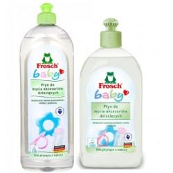 Płyn do mycia smoczków i butelek Frosch Baby