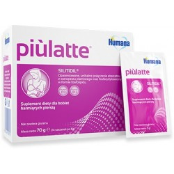 Suplement diety dla kobiet karmiących piersią Piulatte Humana