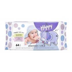 Chusteczki nawilżane Bella Baby Happy, wit. E i alantoina