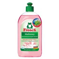 Płyn do mycia naczyń Frosch, malinowy