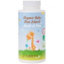 Organiczna skrobia ryżowa Azeta Bio, do kąpieli 100 g