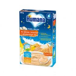Kaszka Humana mleczna na dobranoc, z bananami po 6. miesiącu
