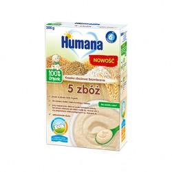 Kaszka Humana bezmleczna 5 zbóż, po 6. miesiącu