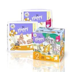 Pieluszki Bella Happy 2 Mini BOX 156szt.