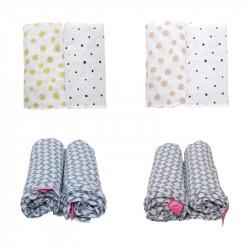 Otulacze muślinowe bawełniane Premium Motherhood 2 szt.