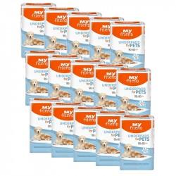 15x Podkłady higieniczne dla zwierząt My Friend 10 szt.
