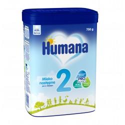 Mleko następne Humana 2, po 6. miesiącu, 750g