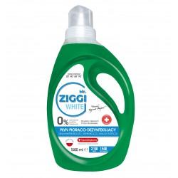 Płyn dezynfekujący Mr. ZIGGI White, do prania białego 1,5l