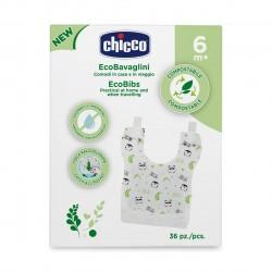 Jednorazowe śliniaczki kompostowalne, Chicco, 36 szt.