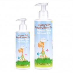 Organiczny płyn dla dzieci Azeta Bio, do mycia ciała i włosów