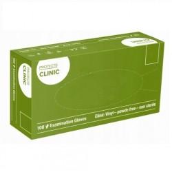 Rękawice jednorazowe winylowe bezpudrowe Semper Protects Clinic Vinyl 100 szt.