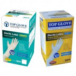 Rękawiczki lateksowe chirurgiczne Top Glove, 50 par