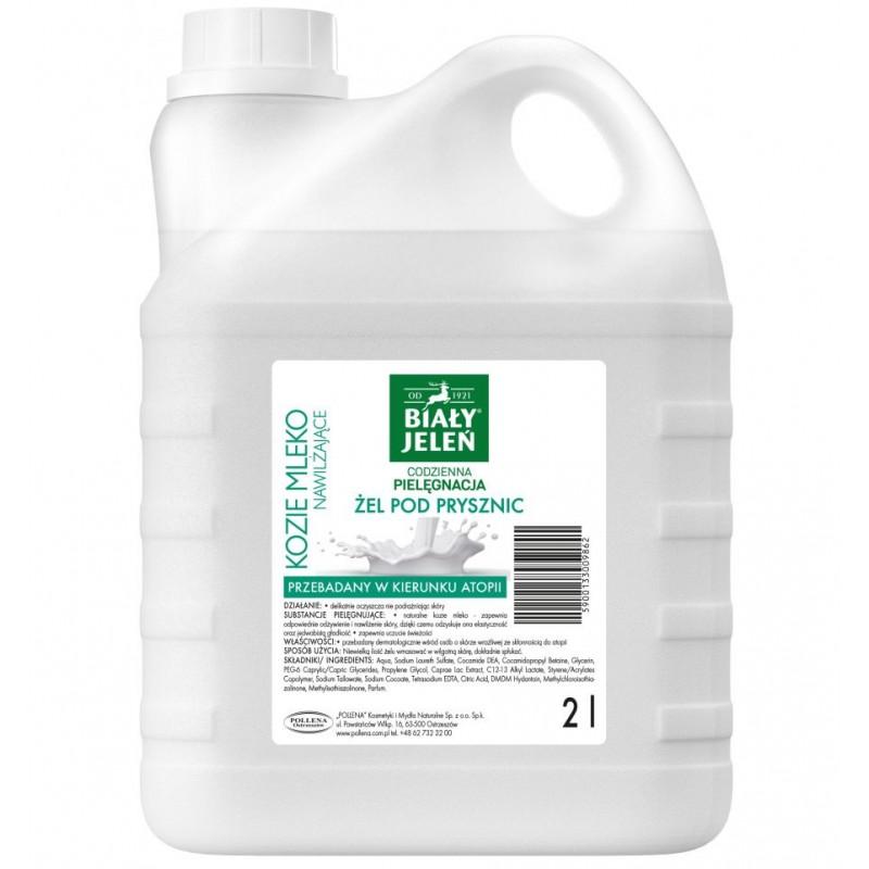 Żel pod prysznic Biały Jeleń Kozie mleko 2 l