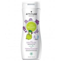 Żel pod prysznic i szampon 2w1 Attitude Little Leaves Gruszkowy nektar i wanilia 473 ml