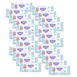 24x Chusteczki nawilżane Happy Aqua Care nasączone wodą