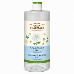 Płyn micelarny 3w1 Green Pharmacy Rumianek 500 ml