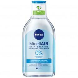 Płyn micelarny Nivea MicellAir Skin Breathe skóra normalna i mieszana 400 ml