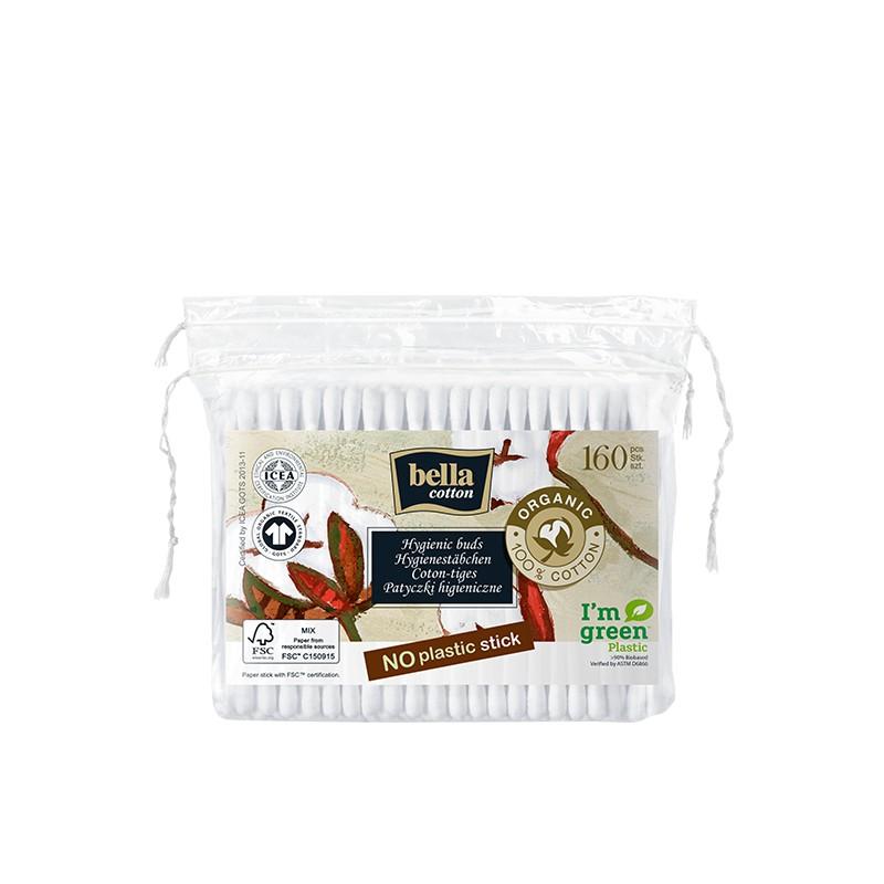 Patyczki higieniczne Bella Cotton BIO papierowe