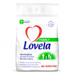Proszek do prania kolorów Lovela Family