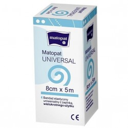Bandaż elastyczny Matopat Universal, z zapinką